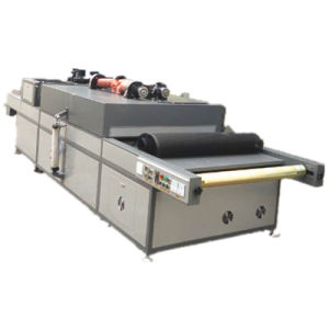 TM-Uvirs IR UV Roller Coating Varnishing Machine with Infrared Heating Systems Drying Oven pictures & photos