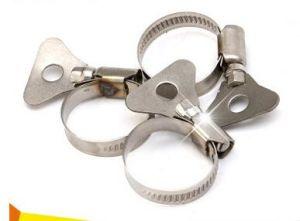 Plastic Handle Butterfly Hose Clamp for Hose Connector pictures & photos