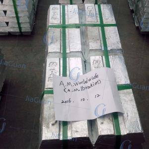 SGS Certified Non Lme Shg Zinc Ingot 99.995% Zamark pictures & photos