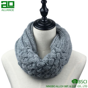 Colorful Custom Knitted Scarf Infinity Scarf pictures & photos