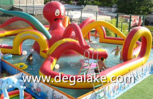 Aqua Inflatable Octopus Water Park for Amusement Customized pictures & photos