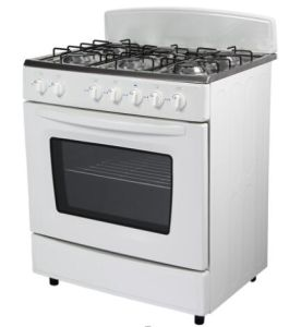 30inch Freestanding 6 Burner Gas Cooker with Separate Grill