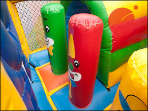 2017 Outdoor Inflatable Hands up Clown Bouncy Slide Combo (T3-611) pictures & photos