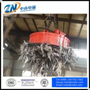 Scrap Lift Magnet for 10t Crane with 2300kg Lifting Capacity for Pig Iron pictures & photos