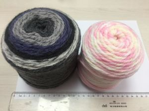 Long Space Printing Acrylic Yarn (JD9767) pictures & photos
