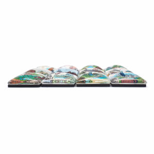 Wholesale Hot Sale Glass Craft Fridge Magnet FM-1028 pictures & photos