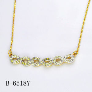 Hotsale 925 Sterling Silver Necklace Imitation Jewelry pictures & photos