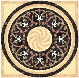 Flower Pattern Carpet Tile Polished Crystal Ceramic Floor Tile 1200X1200mm (BMP45) pictures & photos