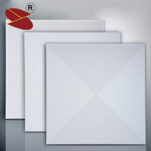 China Manufacture Office Interior Decoration of Aluminum Ceiling Tiles pictures & photos
