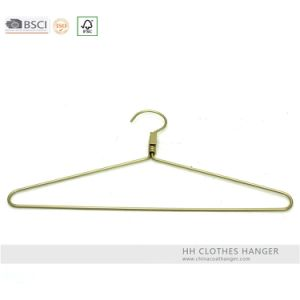 Aluminium Rose Gold Metal Hanger Fashion Copper Clothes Hanger Hangers for Jeans pictures & photos