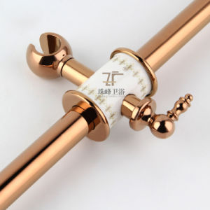 New Design Ceramic Single Handle Zf-609-1 Antique Brass Rain Shower Set pictures & photos