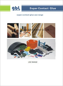 China Supplier-GBL Sbs Contact Super Glue pictures & photos