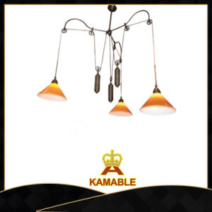 Speicial Design Yellow Hanging Pendant Lamp (C2014B-3) pictures & photos