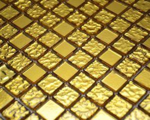 Golden Glass Mosaic
