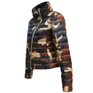 Fashion Design Ladies Outdoor Waterproof Down Jacket pictures & photos