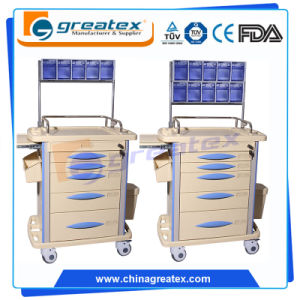 Anesthesia Trolley Medical Cart with Draws (GT-TAQ1301) pictures & photos