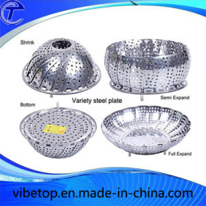 Retractable Stainless Steel Multi-Function Fruit Basket (FP-07) pictures & photos