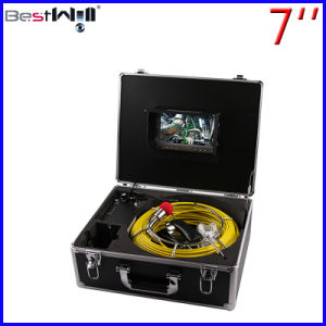 Waterproof 23mm Pipe Inspection Camera CR110-7D1 with 7′′ Digital LCD Screen and 20m to 100m Fiberglass Cable pictures & photos