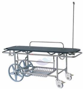 AG-HS016 Medical Equipment Hospital Adjustable Ambulance Stretcher Trolley pictures & photos