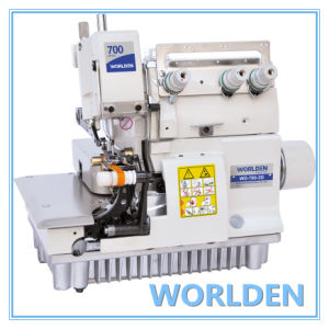 Wd-700-3G Ultra-High Speed Gloves Overlock Machine pictures & photos