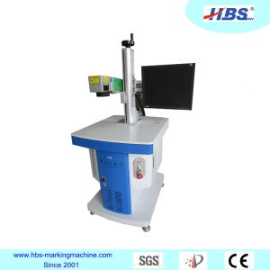 Raycus Laser Source 20W Fiber Laser Marking Machine for Metal and No Metal Marking pictures & photos