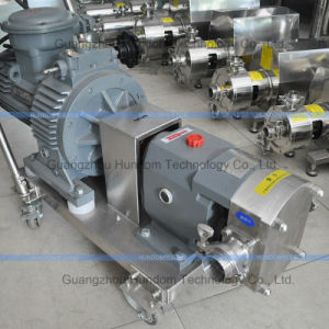 Food Grade Cam Rotor Pump pictures & photos