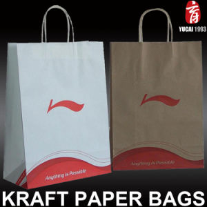 Customized Kraft Paper Bag Paper Shopping Bag pictures & photos