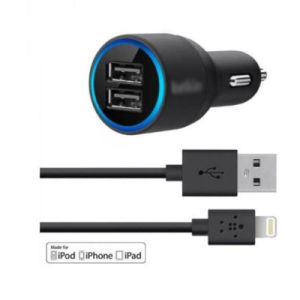 Convenient Belkin Universal Car Charger for Mobile Phone pictures & photos