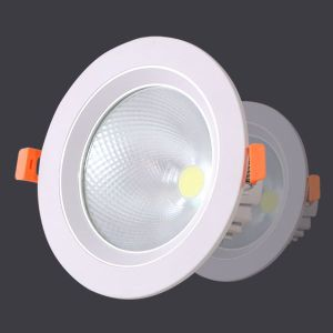7W 10W 20W COB White Aluminum Dimmable Warm White LED Downlight pictures & photos