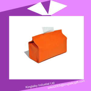 environment-Friendly Felt Tissue Box for Promotion Gift P016A-016 pictures & photos