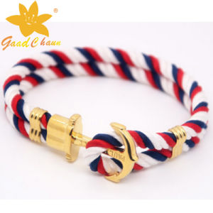 SMB-16112820 Classical Fashion Cotton Thread The Captain of The Bracelet pictures & photos