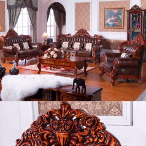 Leather Sofa / Home Sofa / Hotel Sofa / Living Room Sofa (D505) pictures & photos
