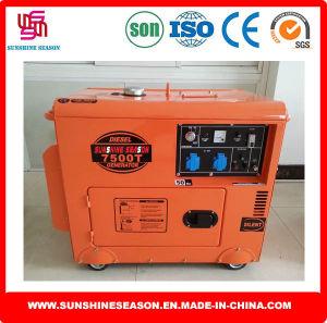 Sounproof Generator 6kw Silent Type 7500t pictures & photos