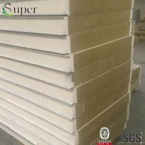 Fireproof Insulation Rock Wool Sandwich Panel pictures & photos