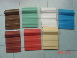 Foam UPVC Heat Insulation Roof Tiles pictures & photos