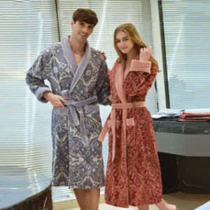 Wholesale Men and Women Couple Bathrobe pictures & photos