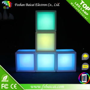 Multipurpose Cost Effetive PE Plastic LED Cube