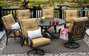 Outdoor Patio Garden Aluminun Furniture pictures & photos