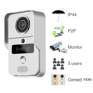 Outdoor WiFi Video Door Bell with RFID Access Control Function pictures & photos