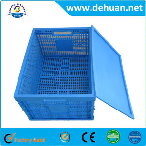 Popular Plastic Food Packaging Turnover Box pictures & photos