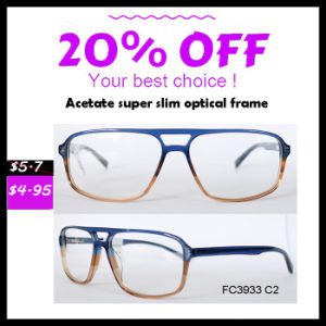 2016 Classical Style Acetate Eyeglass Frame pictures & photos