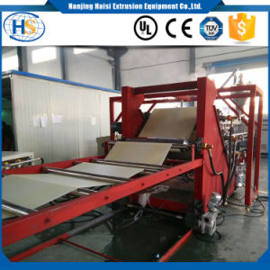 Twin Screw Sheet Extrusion Machine for PP PE PS PLA ABS pictures & photos