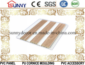 Wooden PVC Ceiling Panel Wall Panel for Home Decoration, Cielo Raso De PVC pictures & photos
