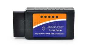 Elm327 Bluetooth V1.5 with Pic18f25k80 Chip OBD2 Diagnostic Scanner Supports OBD II Protocols Scanner pictures & photos