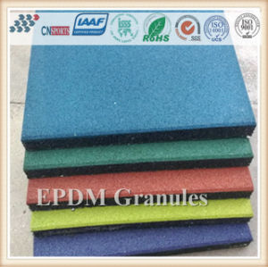 Cushion Elastic EPDM Rubber Flooring for Leisure Ground Floor pictures & photos