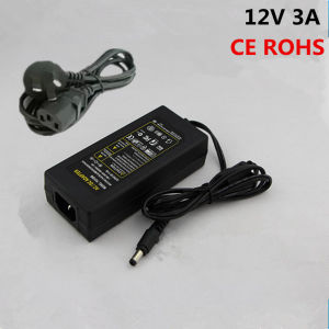 Good Quality Factory Price AC DC Adapter 12V 3A pictures & photos