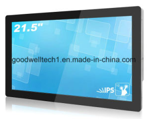 "Capacitive Multi Touch Screen Monitor 21.5"" with Metal Frame pictures & photos"
