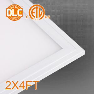 LED Panel Light 2X4 Foot Al Frame + PMMA LGP + PS Diffuser 50W pictures & photos