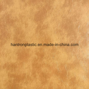 Oil Wax PVC Leather for Furniture pictures & photos