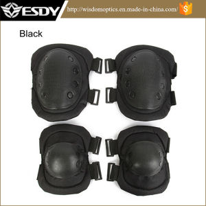 Adjustable Airsoft Tactical Protective Knee Elbow Pad Skate Knee Pads pictures & photos